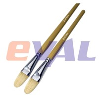 Hog Bristle Filbert Shape brushes for Oil Painting