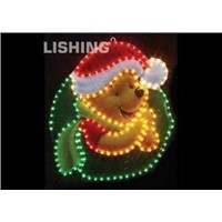 LED 10.1W rope motif lighting