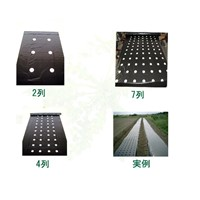 LLDPE biodegradable agricultural plastic film with holes