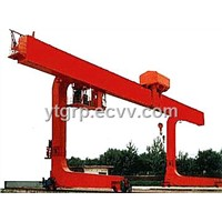 L Model Electric Trolley Single Main Girder Gantry Crane