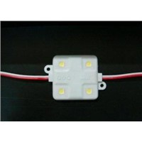 Low power consumption 24mm 4pcs Super Flux LED sign lights Modules for Decorations pub