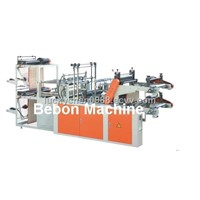 Microcomputer High-Speed Double-Layer Roll Vest Bag Making Machine