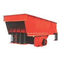 Mineral industry vibrating feeder