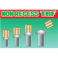 Non-Recess  security fasteners