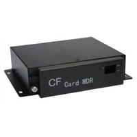 OEM Vehicle Survillence Video 4 Channel CF Card Mobile DVR with GPS
