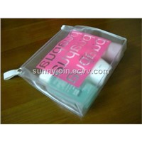 PVC clear small size zipper bag