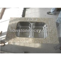 Padang Yellow countertops and vanities