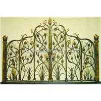 Perfect design hand forged wrought iron gates