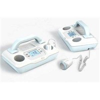 Portable Digital Handheld at Home Fetal 2MHZ or 3 MHZ Doppler Machine for Pregnant Women