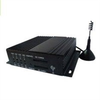 RS232 Remote Control 4 Channel SD Mobile DVR with D1 Resolution