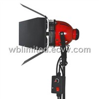 Red head tungsten light with dimmer