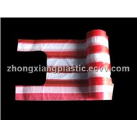 Selling Plastic bag,T-shirt bag,PE t-shirt bag,T-shirt bag on roll,T-shirt plastic bag