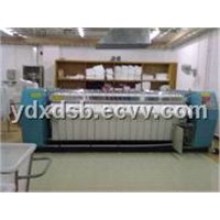 Sheet table cloth flatwork ironer machine