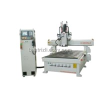 Simple Auto-tool Changing Wood CNC Router  CC-M1325A-3