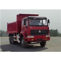 Sino truck  Golden Prince 6x4 dumper lorry,high quality with good reputation
