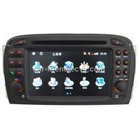 Special Car DVD Player for Mercedes SL with GPS Touch-Screen TV Radio Bluetooth MP4 IPOD Free-Map