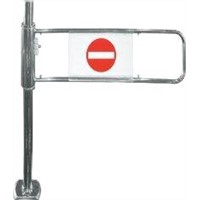 Supermarket Swing automatic barrier gate single door HBE-AC-2