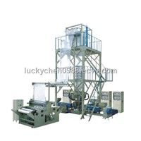 Three-layer Coextrusion Rotary Die Film Blowing Machine Set