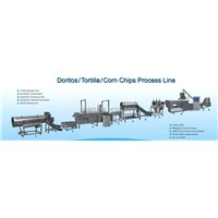 Tortilla chips processing line