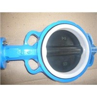 Wafer Type Butterfly Valve Disc Coated PTFE