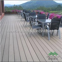 Weather Resistant WPC Outdoor Decking