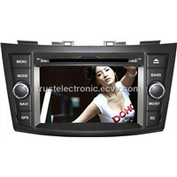 Wholesale Suzuki Swift car DVD GPS in dash stereo navigation player with 7inch touch screen
