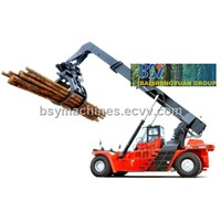 Wood Log Reach Stacker