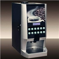 coffee vending machine with dispenser and 12 hot drinks