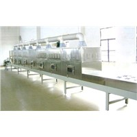 conveyor belt microwave drying machine for food