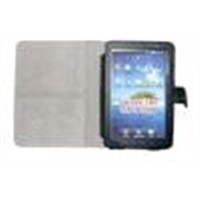 for Samsung Galaxy Tab/P1000 leather case with credit card slots