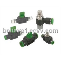 hand valve and speed controller