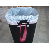 ldpe plastic garbage bag with colour box packaging
