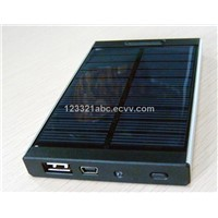 mobile phone solar charger; Ipad / Ipod/ Iphone solar charger; 4000MAh solar charger