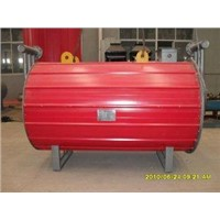 natural Circulation gas fired horizontal thermal oil heating boilers 850kw