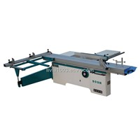 saw machinery: sliding table panel saw for woodworking