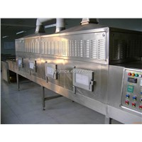 seafood microwave drying and sterilizing machine