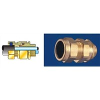 Single Compression CW Type (IP66) Cable Glands for Armoured & Braided Cables