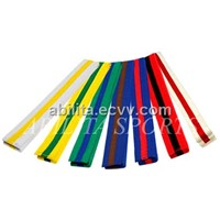 Martial Arts Belts with Stripes