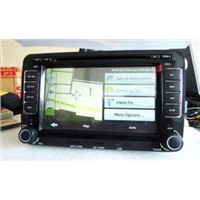 TFT LCD Touch Screen 2 Din Car  Bluethooh DVD Player with Dual Zone,USB / SD for Passat B6