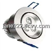 3w led Ceiling Light round