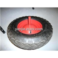 4.00-8 Square Pattern Tyres Rubber Wheel