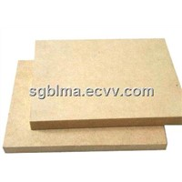 6mm Plain / Laminated Melamine MDF for Furniture with Carb,CE,SGS Certification
