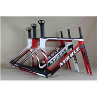 Beautiful!!!MIRACLE 2012 new design carbon frame MT-MC055