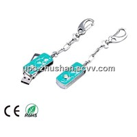 Gifts Keychain 4GB Diamond USB Pendrive