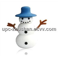 Hot Sale Gifts Snowman Shaped Christmas 4GB 8GB 16GB USB Flash Disk