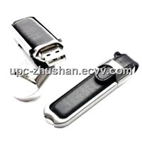 Hot-Selling Real Memory Leather Pen USB Flash Disk