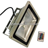 IP65 Waterproof 50W RGB LED Floodlight