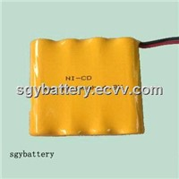 Ni-CD AA 1000mAh 4.8V battery pack
