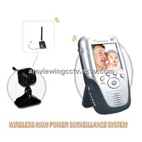Wireless CCTV Baby Video Monitor System