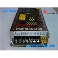 100W LED Display Power Supply,5V20A100W